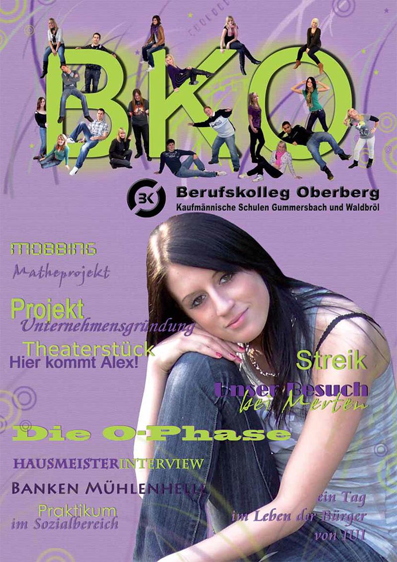 Kaufmännisches Berufskolleg Oberberg - einBlick 2009